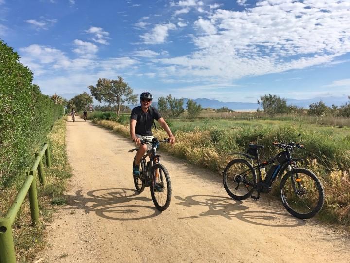 Fahrradtour (Tourenräder + E-bikes):  Santa Eulalia