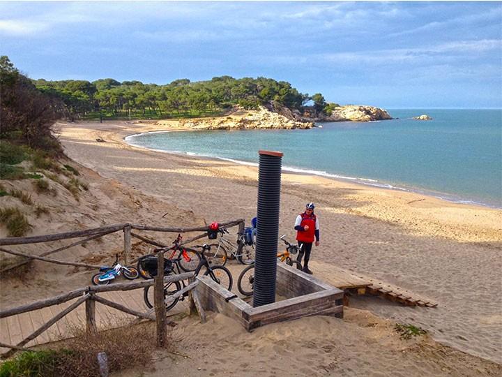 Fahrradtour (Tourenräder + E-bikes): Viladamat - Sant Martí d`Empúries