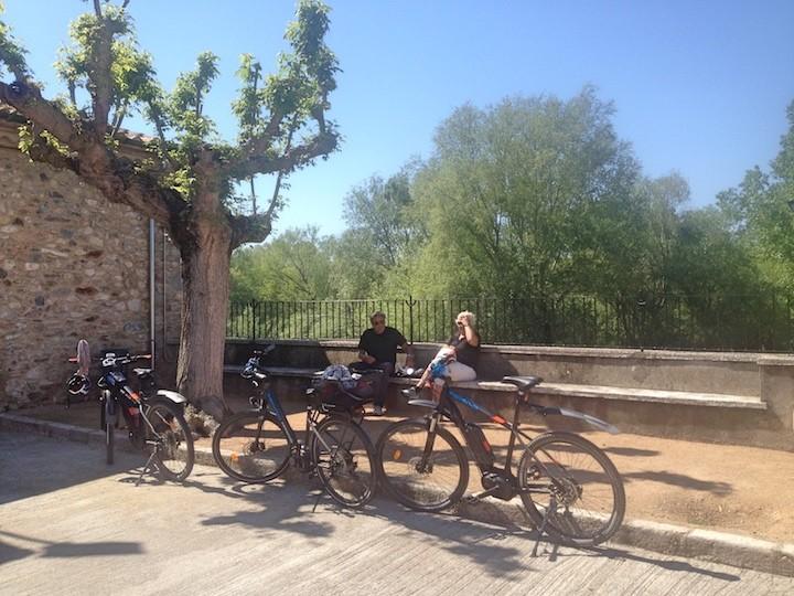 Fahrradtour (Tourenräder + E-bikes): Peralada