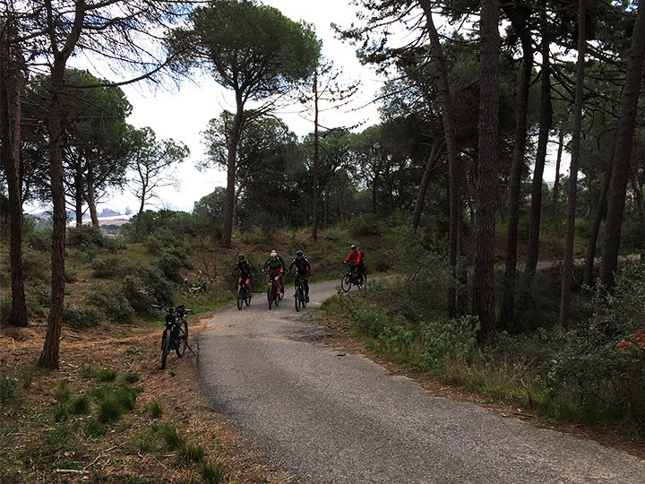 E-Biketour: Rundfahrt Montgri