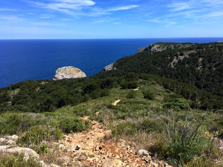 Wanderung: Montgri - Cala Pedrosa