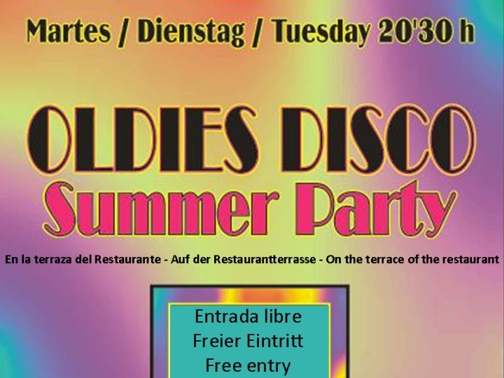 Oldies Disco – Summer Party