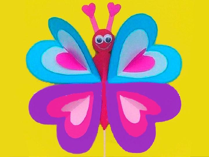 Schmetterlingsstecker