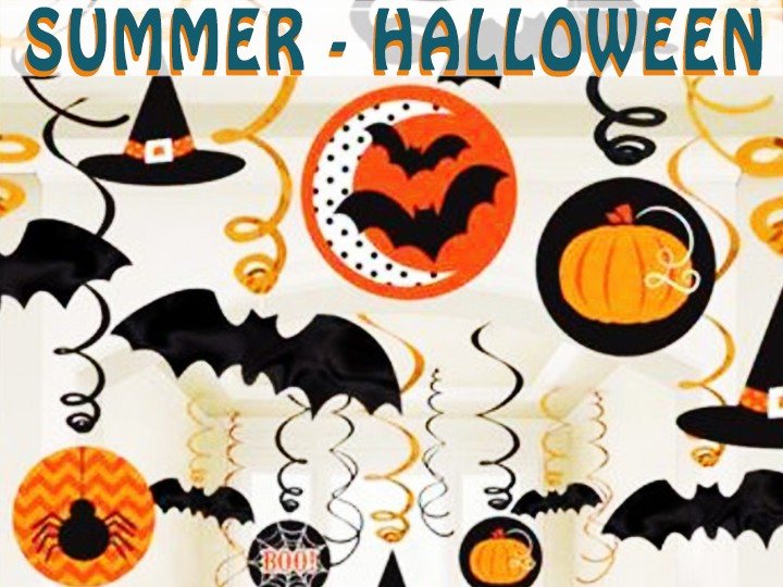 Thementag - Summer-Halloween