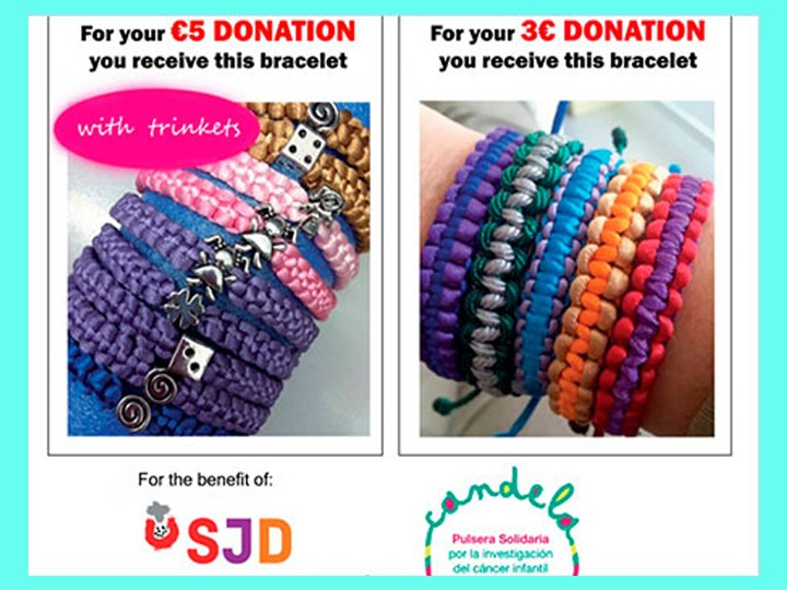 Solidarity workshop: Candela bracelets